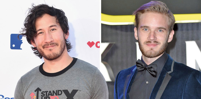 Markiplier and PewDiePie have many things in common. They are both successful YouTubers who