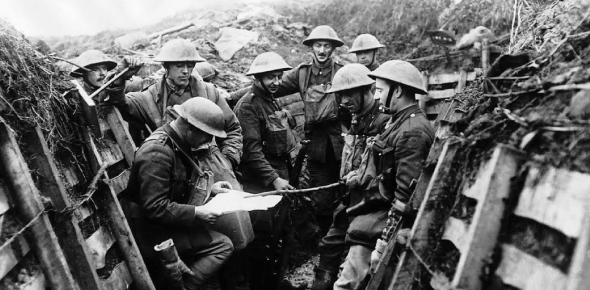 Why were the major wars called the 'World' Wars?
