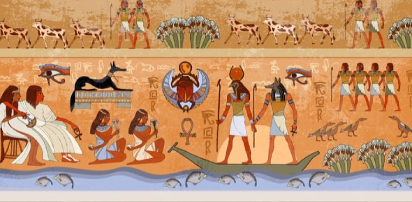 There was more than one step in the mummification process in ancient Egypt. It may have seemed like