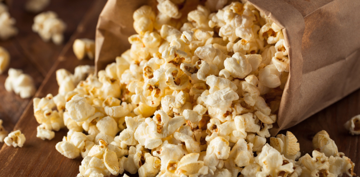 Kettle corn is known to be the type of corn that can be received from the normal popping corn.