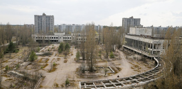 Why was Pripyat evacuated after Chernobyl?