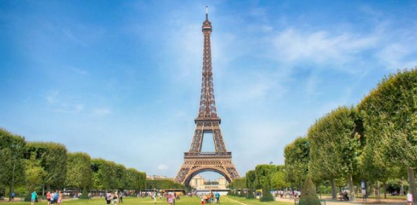 What is the absolute location at the Eiffel Tower? - ProProfs