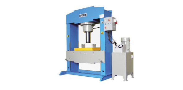 What is a hydraulic press?