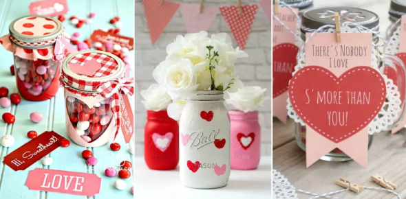 There are different DIY Valentine's gifts that anyone can make. For instance, you can take