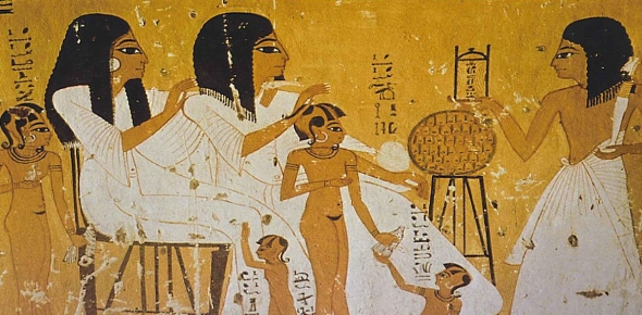 """Egypt is known as the """"gift of the Nile."""" Every year during a certain time, the Nile"""