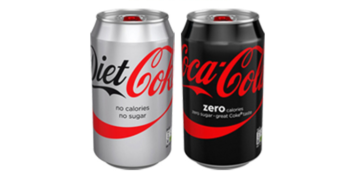 Although diet coke and coke zero have many similarities such as having the same sweetener and both