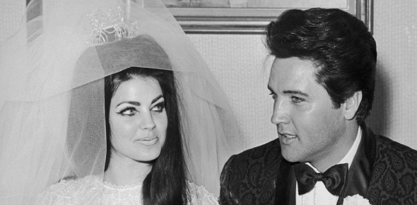 Why did Elvis and his wife get divorced?