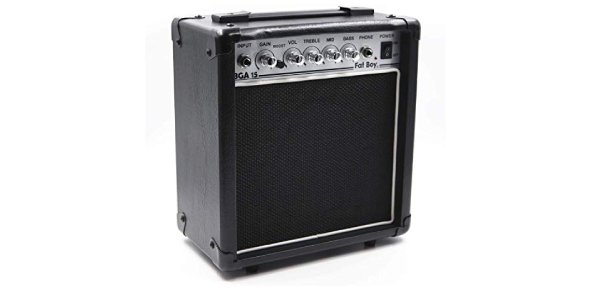 The guitar amp is used to emphasize the tone of the guitar. There are times when the tone should be