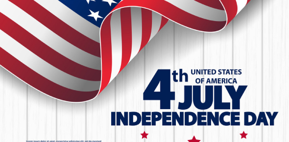 "The United States gained its freedom on July 4, 1776. This was the day the ""Declaration of"