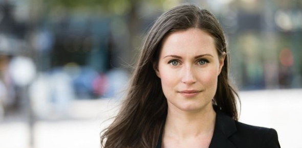 It comes as no surprise that Sanna Marin is not only the youngest Prime Minister in Finland but