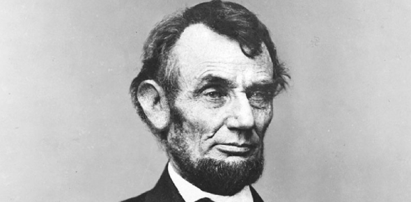 How did Lincoln win the presidency even though he was inexperienced in national affairs?