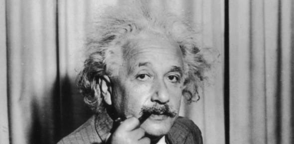 Albert Einstein was a well-known scientist and mathematician. Even though the Pythagorean theorem