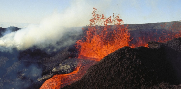 Which places are the hotspots for volcanic activity?