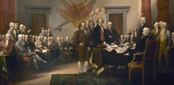 What was the purpose of the Declaration of Independence?