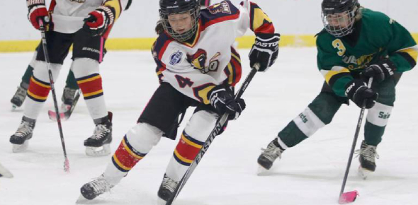 For Canadians during the winter, hockey is played frequently and is considered a national sport.