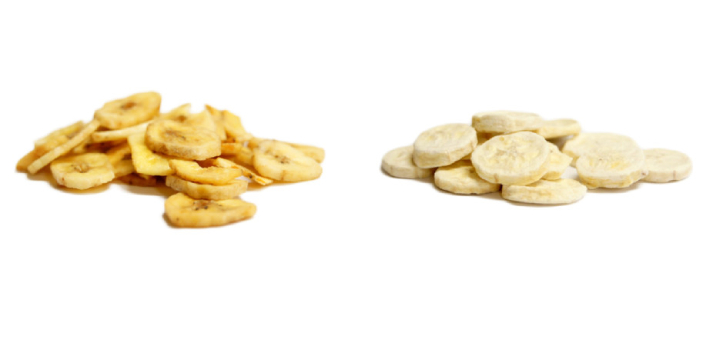 Dehydrated and freeze-dried are not the same although they may seem very similar to each other. It