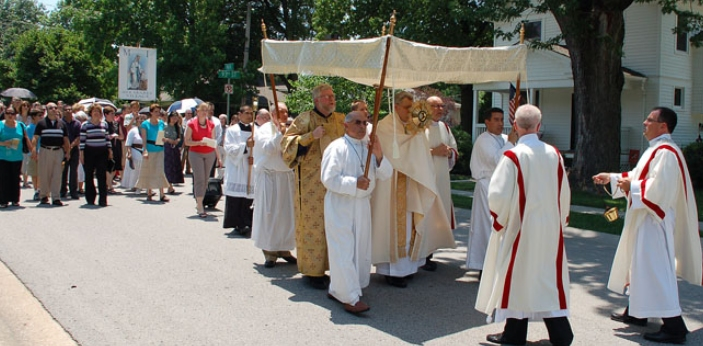 Corpus Christi started in the year 1246. Robert de Torote ordered this to be celebrated. If you
