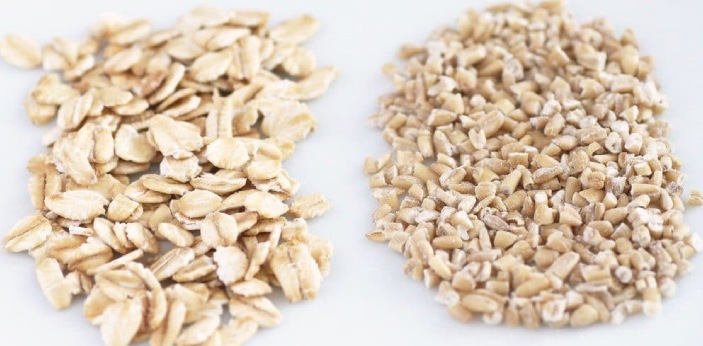 You should realize that rolled oats and oats come from the same cereal grain. The main difference