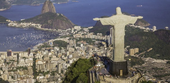 What are the chances of a tourist being robbed in Brazil?