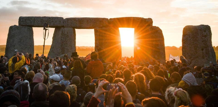 To the best of my knowledge, the summer solstice, or perhaps the estival solstice, which is also