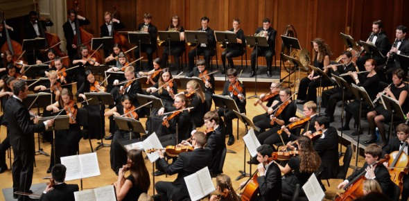 When did orchestras become popular?