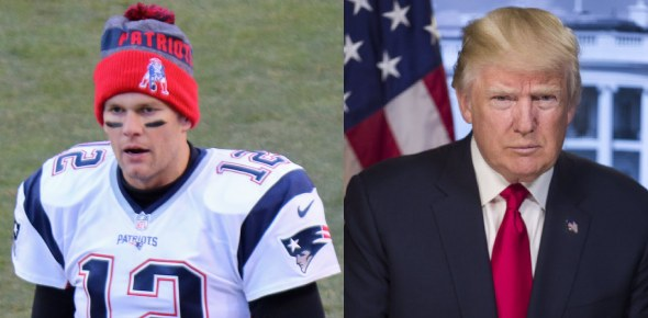 Would you still be a fan of Tom Brady if he admitted to supporting Donald Trump?