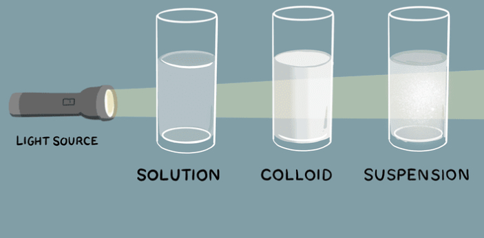 The colloid and suspension are known to be connected to each other but they have some differences