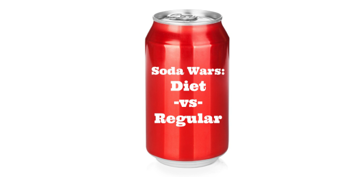 Regular soda is sweetened using high fructose corn syrup, and it contains a startling amount of