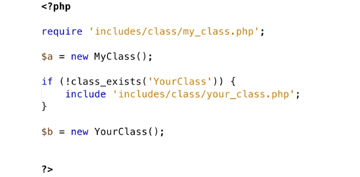 Require and include are terms used in PHP. Both are being used to carry out different functions in