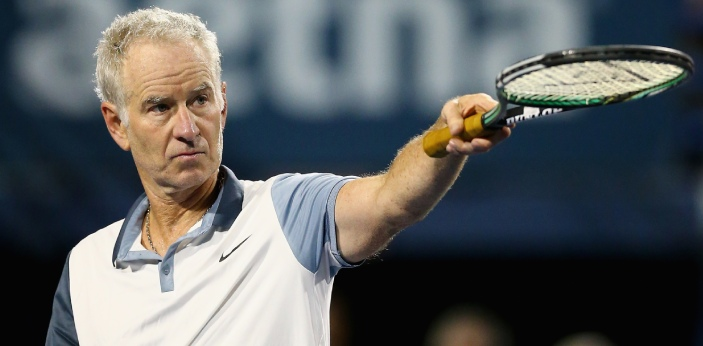 The answer to this is John McEnroe. He is now a retired tennis player but he is still well-known