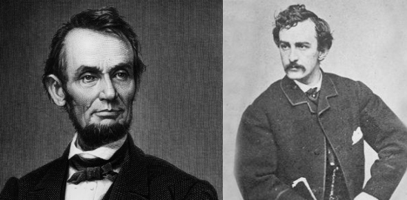 How did John Wilkes Booth get access to Lincoln's podium?