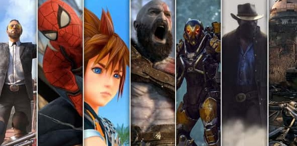 What are the most anticipated game titles of 2018?