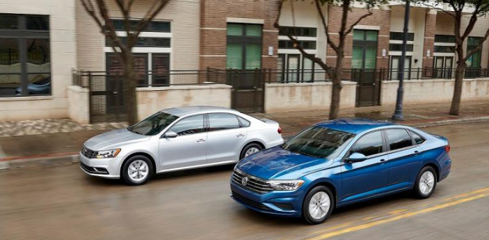 Jetta and Passat are two different models of cars produced by. The Volkswagen Jetta has a 1.4 liter