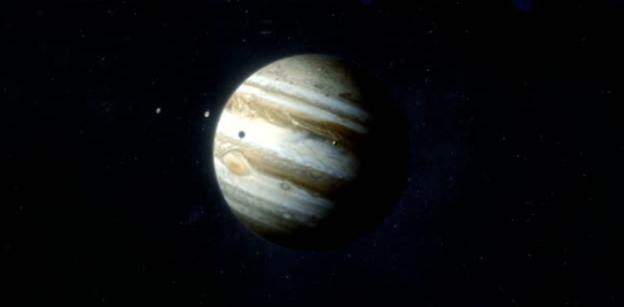 Earth and Jupiter are two out of eight planets that make up the solar system. Both, together with