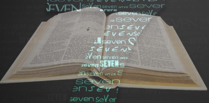 In the Bible, the number 7 is considered to be not only lucky but also powerful. Seven is the