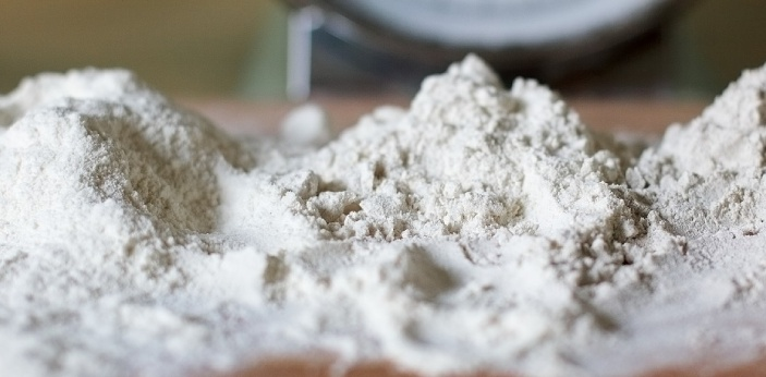 Fine flour is flour that has been ground even finer than it normally is. Many breads are made with