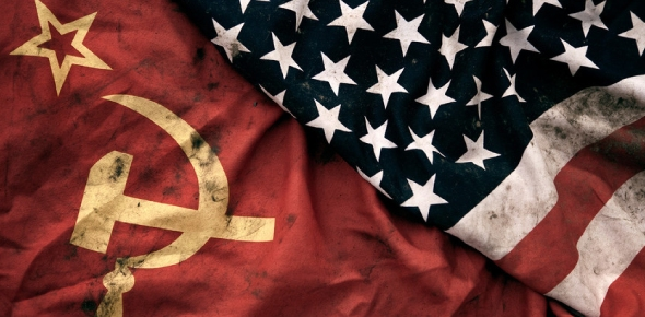 Why were the USSR and US at crossroads following the world wars?