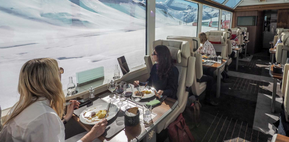 While traveling by train, it is important to ask if the food you get on the train is good. In