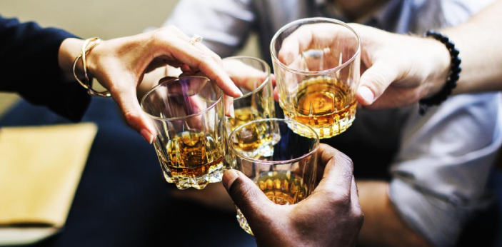 There are three types of alcohol that dissolve in water: ethanol, methanol, and propanol. These