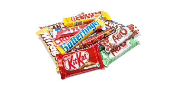 Which is the unhealthiest confectionery dish?