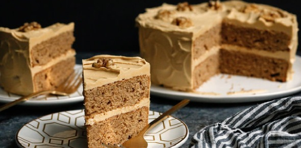 How to give a strong coffee flavor to your cake?