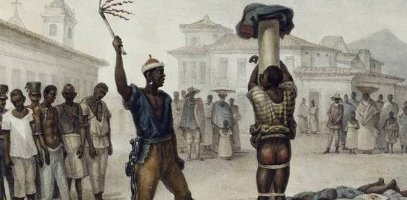 Which country banned slavery last?