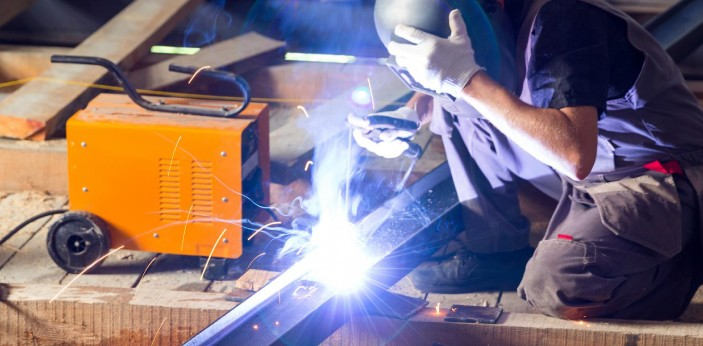 Welding and soldering are two different words with different meanings. However, welding and