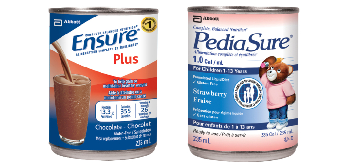 Pediasure and Ensure are two types of food supplements. Pediasure is designed for kids, while