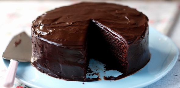 Can I use hard candy as a topping for a chocolate cake?