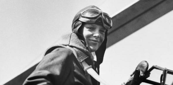 Why is Amelia Earhart so famous among pilots?