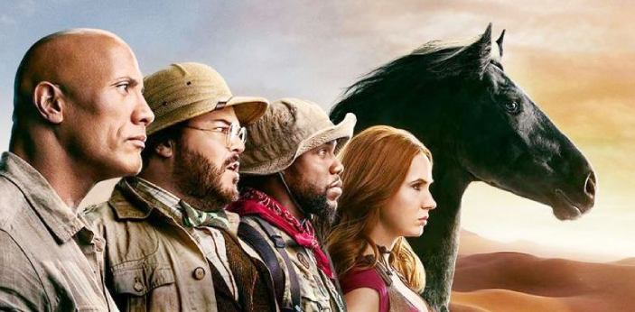 The first Jumanji came out in 1995 as an adaption of the 1981 children's book of the identical