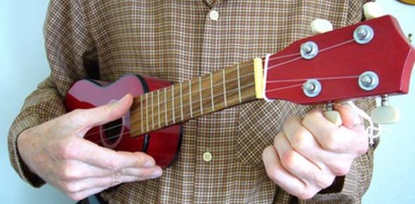 Why does my ukulele sound like a guitar?