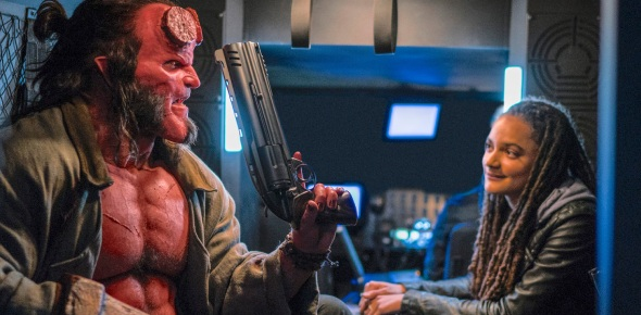 The character Hellboy does have a real name as Hellboy would be his nickname. His actual name is