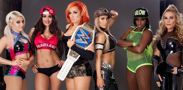 Who is the hottest wrestling woman of WWE?